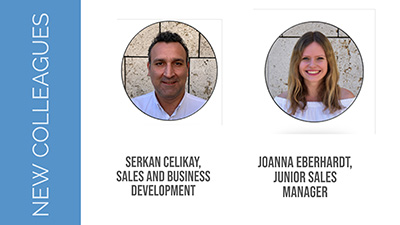 XDD 2019 Year Results: New Collegues - Serkan Celikay and Joanna Eberhardt